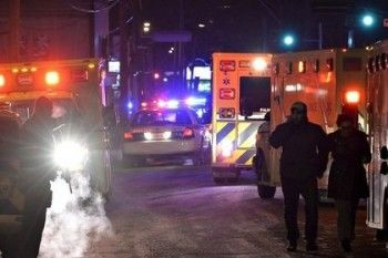 В результате стрельбы в мечети Квебека погибли пять человек
