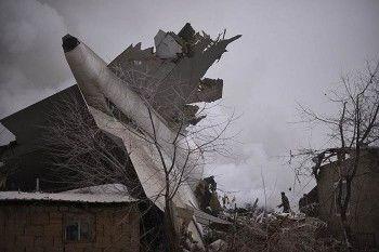 Жертвами крушения турецкого самолёта в Киргизии стали более 30 человек