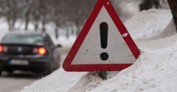 Из-за сильного снегопада в Нижнем Тагиле ГИБДД регистрирует по пять аварий каждый час