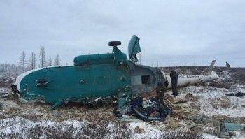 При крушении вертолёта на Ямале погибли 19 человек