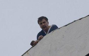 Михаил Саакашвили пригрозил самоубийством в ответ на обыски СБУ (ВИДЕО)
