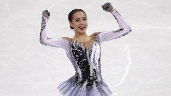 Российская фигуристка Алина Загитова установила мировой рекорд на ОИ