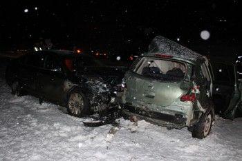 За сутки в ДТП на дорогах области погибли четыре человека