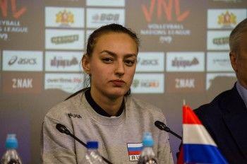 Нападающая «Уралочки» Ксения Парубец стала капитаном женской сборной России по волейболу
