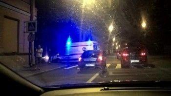 В центре Петербурга водитель сбил четырёх человек (ВИДЕО)