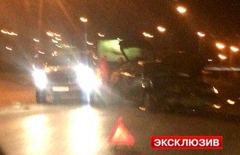 Экс-губернатор Свердловской области Эдуард Россель попал в аварию