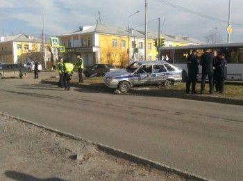 В Нижнем Тагиле автомобиль Росгвардии попал в ДТП (ВИДЕО)