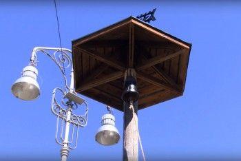 На плотине Тагильского пруда установили сигнальный столб времён Демидовых