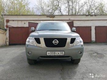 Мэр Нижнего Тагила Сергей Носов продаёт свой Nissan Patrol