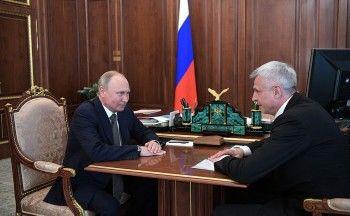 Владимир Путин назначил Сергея Носова врио губернатора Магаданской области