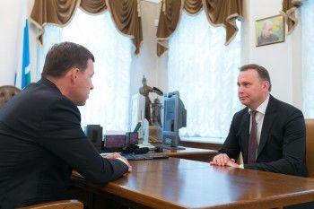 Куйвашев попросил врио главы Нижнего Тагила не снижать темпы развития города