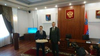 Сергея Носова официально представили политической элите Магаданской области
