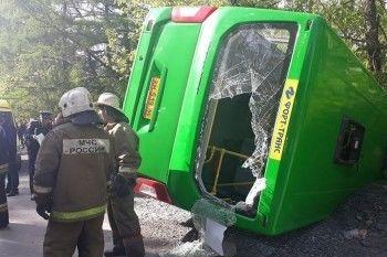 СК проводит проверку по факту ДТП с пассажирским автобусом в Екатеринбурге, в котором пострадали 26 человек