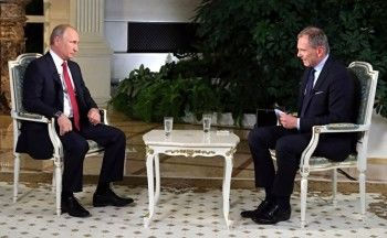 Австрийский телеканал взял уПутина жёсткое интервью