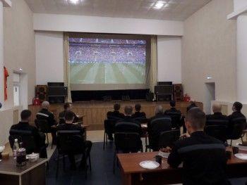 В нижнетагильской исправительной колонии № 13 для экс-силовиков открыли спортбар для просмотров матчей ЧМ по футболу