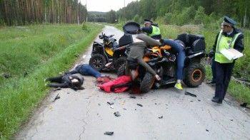 В Свердловской области в лобовом столкновении квадроциклов погибли четыре человека