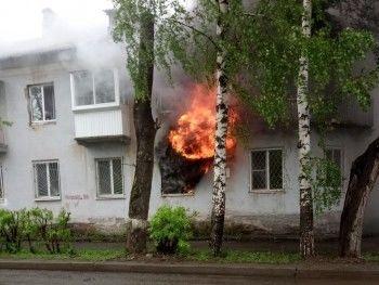 В Нижнем Тагиле из-за неисправного обогревателя дотла выгорела квартира