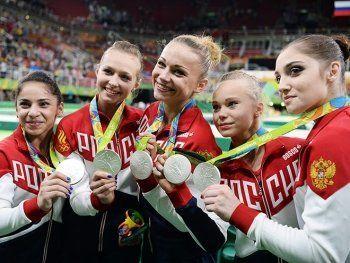 Россия поднялась на пятое место в медальном зачёте на Рио-2016