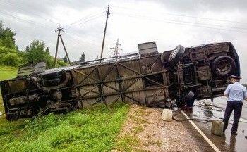 13 человек погибли на Дальнем Востоке при столкновении автобусов
