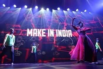 Танцующие роботы и индийцы открыли в Екатеринбурге промышленную выставку Иннопром-2016