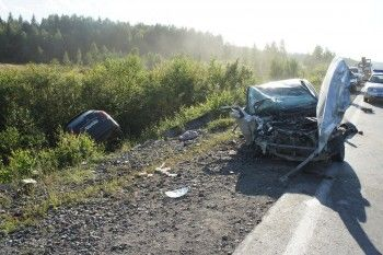 В результате ДТП погиб пассажир