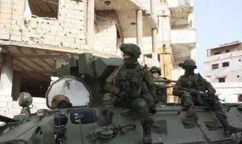 Российский контрактник погиб во время операции в Сирии