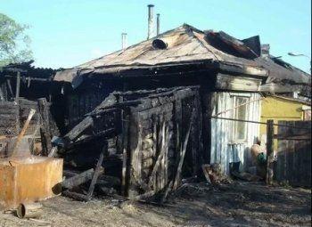 Под Нижним Тагилом в частном доме сгорели двое мужчин