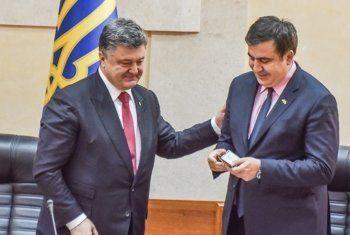Саакашвили заявил о приказе Порошенко лишить его гражданства Украины