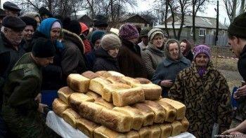 ООН: голод угрожает 1,5 млн жителей востока Украины