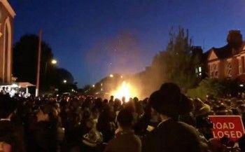 В Лондоне около 30 человек пострадали при взрыве на еврейском празднике