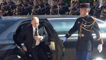 Владимир Путин совершит тайный визит во Францию