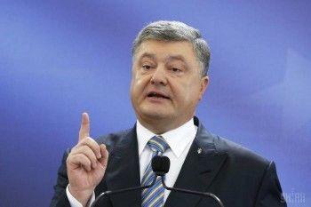Порошенко подписал закон о 75% доли украинского языка на телевидении