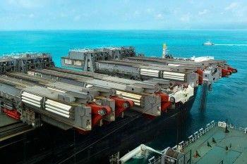 «Ведомости» сообщили о начале строительства «Газпромом» второй нитки «Турецкого потока»