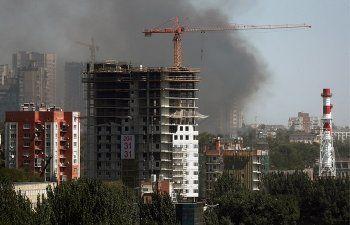 По делу о пожаре в центре Ростова-на-Дону обыскали офисы риелторов