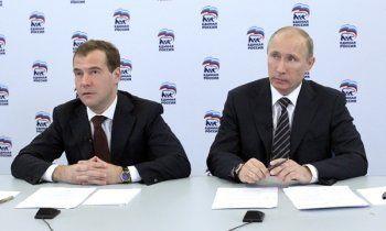 Путин и Медведев не пойдут на праймериз «Единой России»