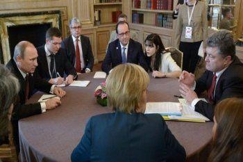 В Берлине прошло заседание представителей «нормандской четвёрки»