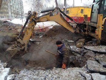 Несколько коммунальных аварий в Свердловской области удалось ликвидировать в короткие сроки