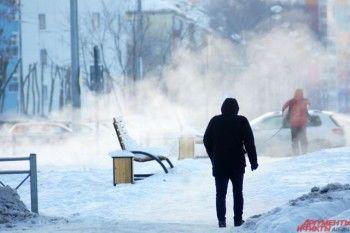Аномальные морозы продержатся на Среднем Урале до четверга