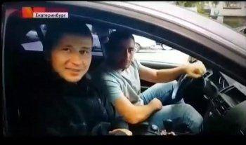 В Екатеринбурге автохам избил журналиста Первого канала (ВИДЕО)