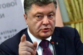 Порошенко обвинил Россию в концентрации войск у границ Украины