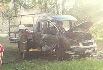 В Нижнем Тагиле пьяный мужчина сжёг свою «Газель» (ФОТО)