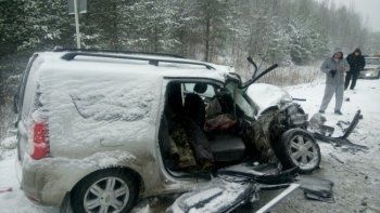 В авариях на дорогах Свердловской области погибли два человека