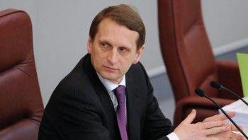 Нарышкин поддержал перенос думских выборов на сентябрь