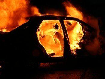 В Нижнем Тагиле ночью сгорел автомобиль