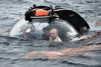 Путин снова нашёл амфоры на дне Чёрного моря