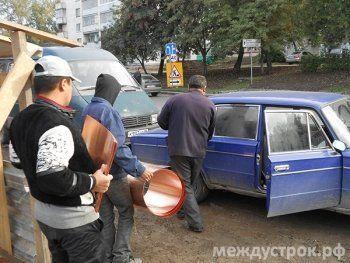 С Демидовской дачи рулонами вывозят цветмет (ФОТО, ВИДЕО)