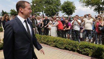 Крымские власти назвали жалобы пенсионеров Медведеву провокацией
