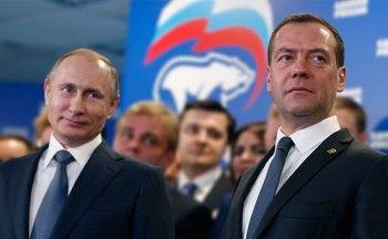 Путин оставил Медведева напосту премьер-министра
