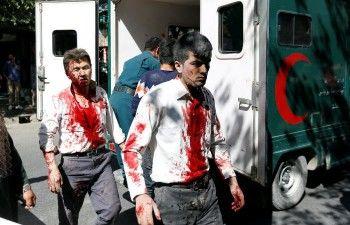 В Кабуле возле посольства Германии прогремел взрыв (ВИДЕО)