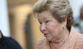 Наина Ельцина предложила считать 90-е годы «святыми»
